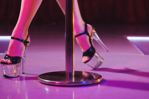 Did former Ms. Florida Karyn Turk work at Scores strip club in New York City?